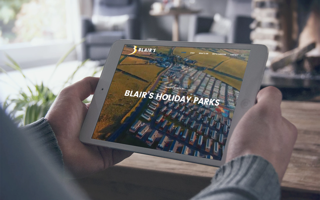 Blair's Holiday Park - Website Design