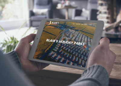 Blair's Holiday Park – Website Design