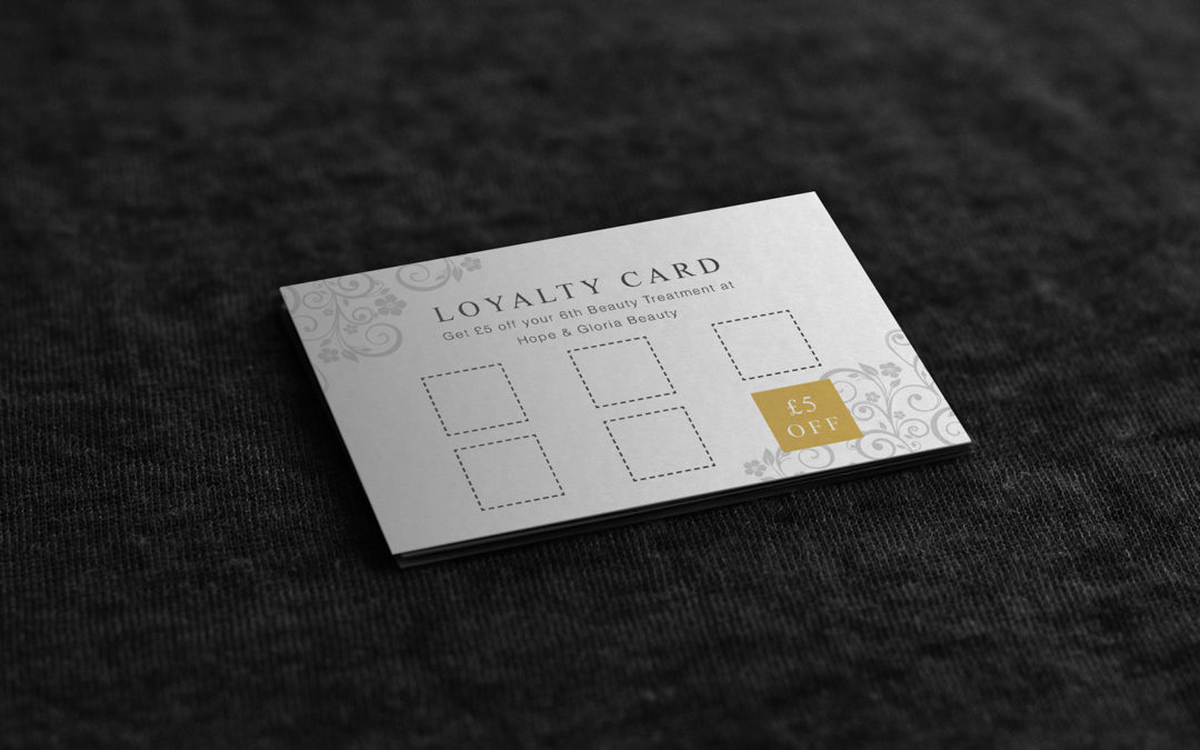 Hope & Gloria – Loyalty Cards