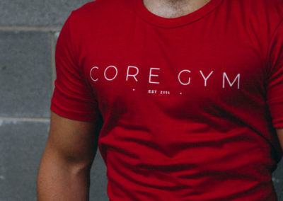 Core Gym – T-Shirt Design