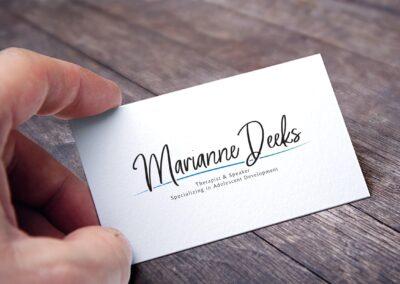 Marianne Deeks – Logo Design
