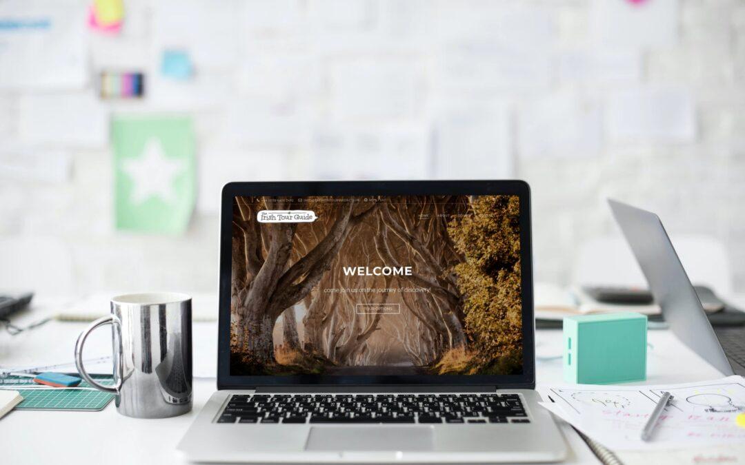 The Irish Tour Guide – Web Design – theirishtourguide.co.uk