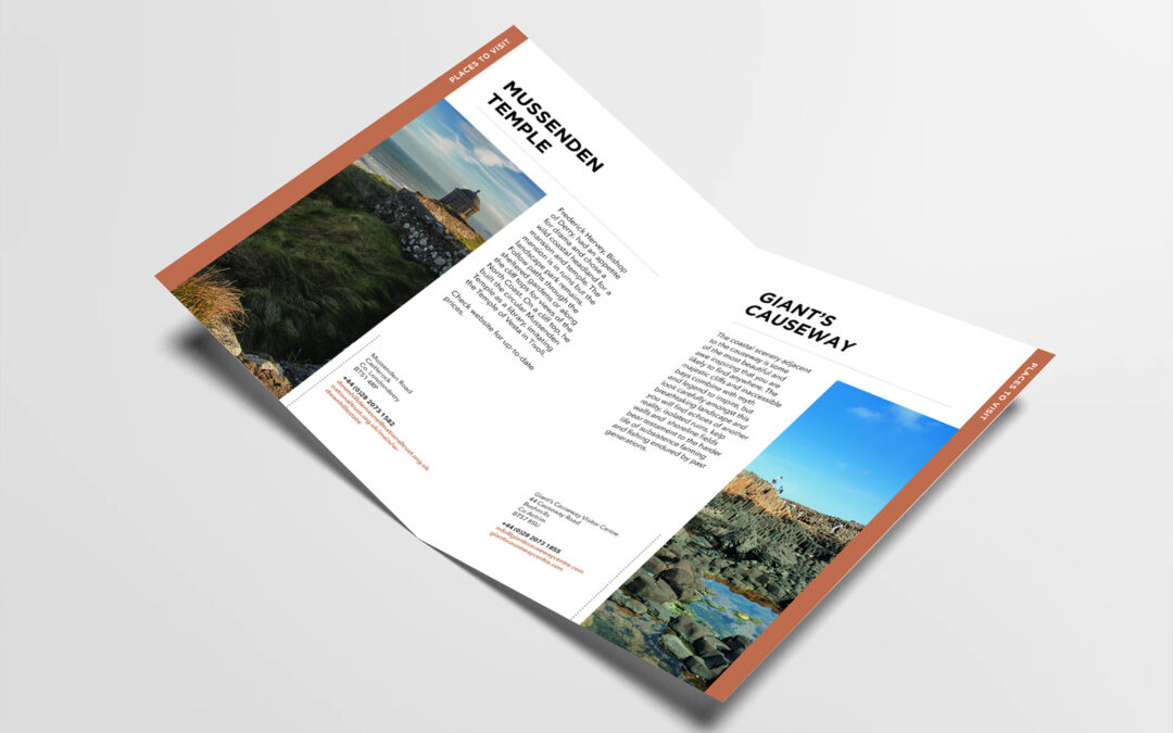 CCV Visitors Guide – Print Design
